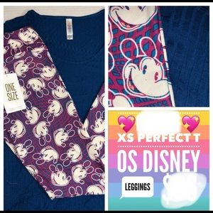 NW 2 piece LuLaRoe Disney outfit top and leggings